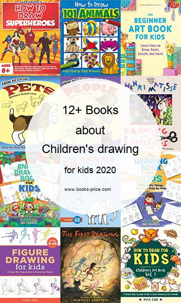 15 Children's drawing books for kids 2020