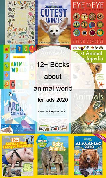 14 animal world books for kids 2020
