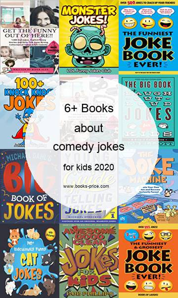 6 comedy jokes books for kids 2020