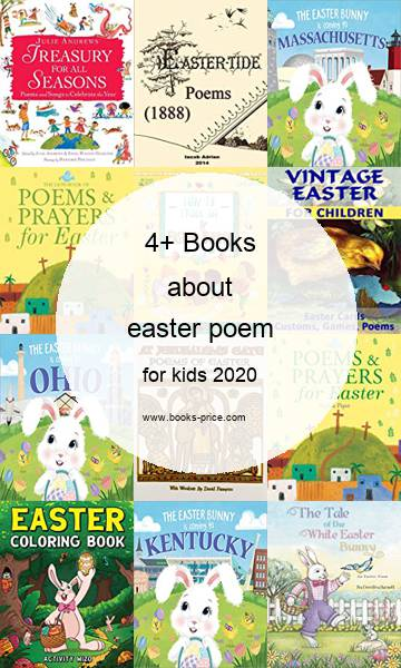 4 easter poem books for kids 2020