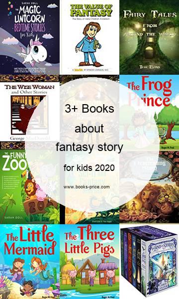 3 fantasy story books for kids 2020