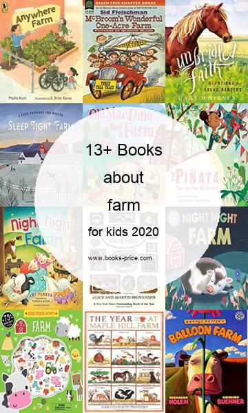 13 farm books for kids 2020