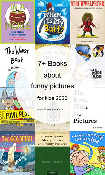 7 funny pictures books for kids 2020