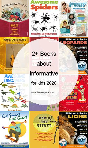 2 informative books for kids 2020