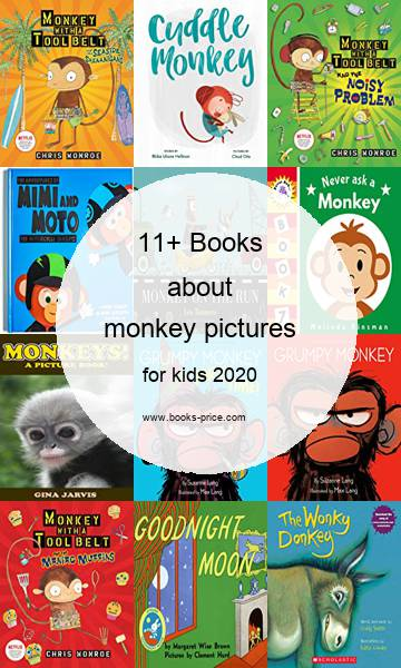 11 monkey pictures books for kids 2020