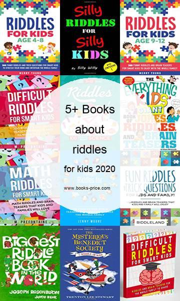 5 riddles books for kids 2020