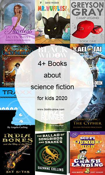4 science fiction books for kids 2020