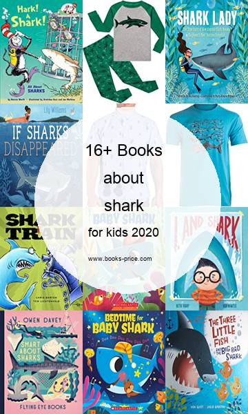 16 shark books for kids 2020