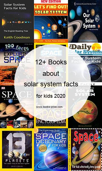 12 solar system facts books for kids 2020