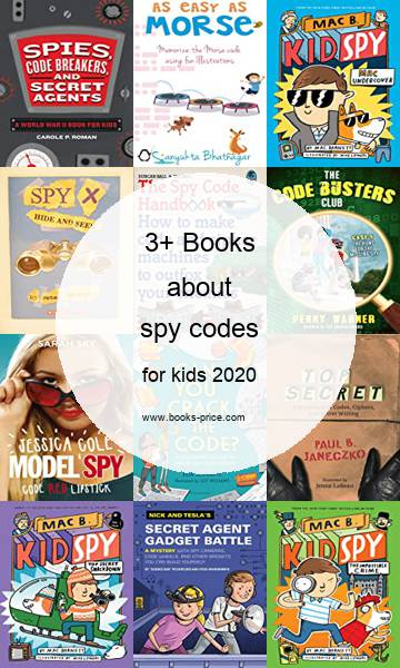 3 spy codes books for kids 2020