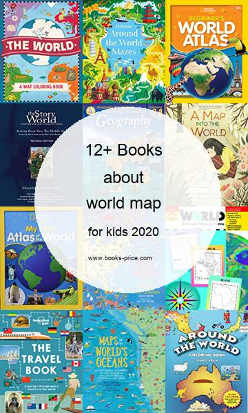 15 world map books for kids 2020