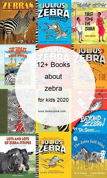 13 zebra books for kids 2020