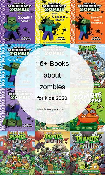16 zombies books for kids 2020